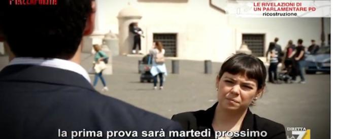 """Esponente Pd svela l'accordo segreto con il M5S a """"Piazza Pulita"""" (video)"""