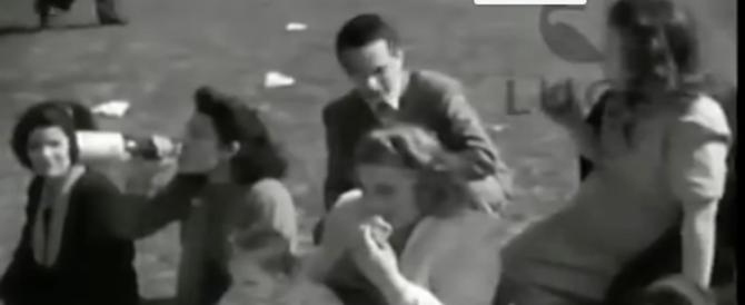 Pasquetta nazionalpopolare: l'Italia in bianco e nero diventa virale sui social (video)