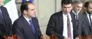 Il Pd sul Colle. Martina: «Noi fuori dai giochi, chi ha vinto dimostri responsabilità» (video)