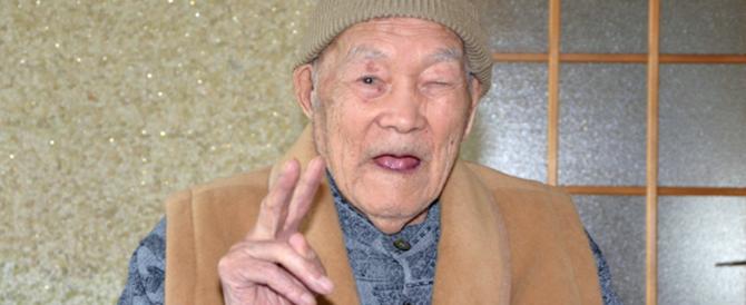Guinness, è giapponese e ha 112 anni l'uomo più vecchio del mondo