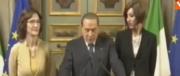 Berlusconi: il centrodestra non è un artificio, io non ho mai posto veti su Di Maio (video)