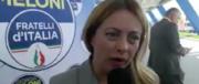 Meloni: «Il M5S gioca con gli italiani e rincorre solo le poltrone» (video)