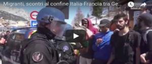 No-Tav e centri sociali contro tutti: ancora scontri al confine. Arrivano i rinforzi (VIDEO)