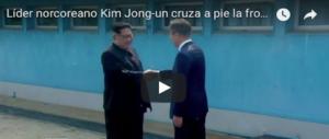 Storico incontro di pace tra i leader delle 2 Coree: la guerra è finita. Nuova era al via (Video)