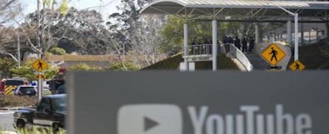 Terrore in California: una donna spara nel quartier generale di Youtube (video)