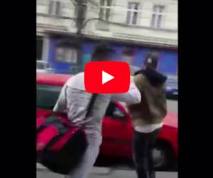 Aggressione nel centro di Berlino: arabo picchia un giovane ebreo con la cinta (video)