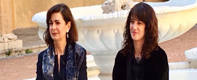 Rieccole, Asia Argento e Laura Boldrini insieme su Twitter contro il patriarcato