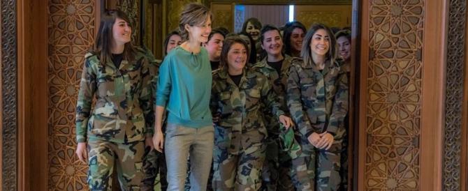Fango anche su Asma, moglie di Assad. Ma lei: non lascio la mia patria