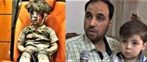 Fake-news: la vera storia di Omran, il bambino che commosse il mondo