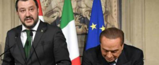 Berlusconi: «Tutto come prima, il leader è Salvini. Nessun contatto col Pd»