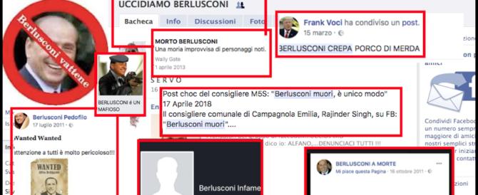 Napolitano, si indaga sugli insulti web. Ma a Berlusconi si può dire tutto…