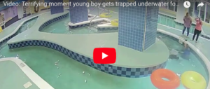 Bimbo intrappolato sott'acqua per 9 minuti. La corsa frenetica per salvarlo (video)
