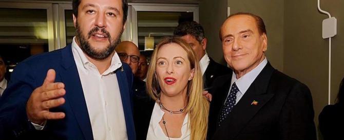 Berlusconi e Meloni dicono sì a Salvini: «Centrodestra unito al Colle»
