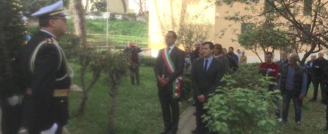 Primavalle, 45 anni dopo gli studenti rendono omaggio ai Fratelli Mattei (fotogallery)