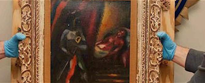 """""""Otello e Desdemona"""" di Chagall ritrovato dopo 30 anni: fu rubato"""