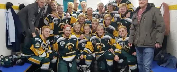 Canada, incidente in autostrada: strage di giovani giocatori di hockey, 14 morti