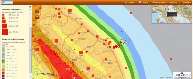 """Paura dopo la nuova scossa: """"La mappa di rischio sismico è aggiornata?"""""""