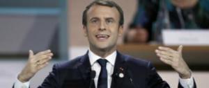 Macron zerbino degli Usa sulla Siria. Con la speranza di passare alla storia
