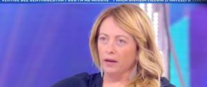 """Meloni a Domenica Live: """"Salvini presenterà un programma, vediamo chi ci sta"""" (video)"""