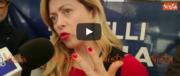M5S-Pd, Fico ottimista. Meloni: «Vergognoso un governo senza destra» (video)