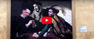 """Berlusconi, Salvini e Di Maio come i """"Bari"""" di Caravaggio: murales al Colle (video)"""