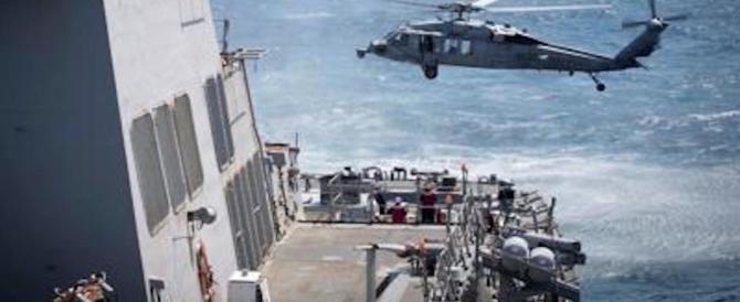 Nave da guerra Usa verso la Siria: jet russi la sorvolano (a bassa quota)