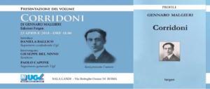 Lunedì la presentazione del libro di Gennaro Malgieri su Corridoni