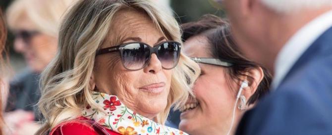 Rita Dalla Chiesa: «Mia figlia cresciuta da Fabrizio Frizzi. Quindi, silenzio»