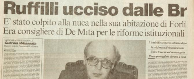 Tre colpi alla nuca, in ginocchio: 30 anni fa le Br uccidevano Roberto Ruffilli (audio)