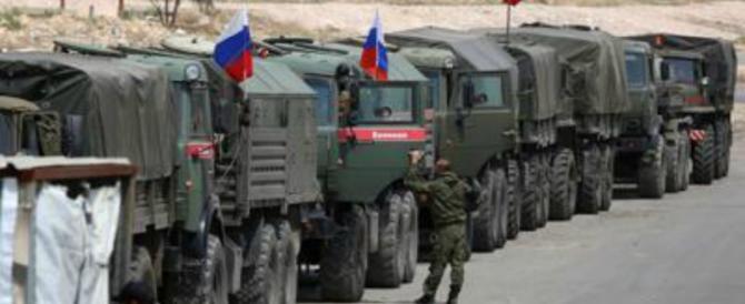 La Russia: «Oltre 100 missili lanciati da Usa, Gb e Francia». La Siria: soldati feriti
