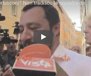 Salvini parla chiaro: «Io coerente, non tradirò mai il centrodestra» (video)