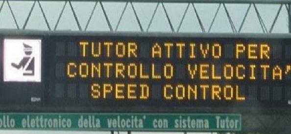 Tutor addio, la Corte d'Appello di Roma lo fa togliere dalle autostrade