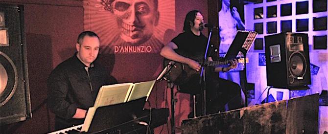 """Skoll presenta a Firenze """"D'Annunzio"""", canzoni di lotta e di vittoria (video)"""