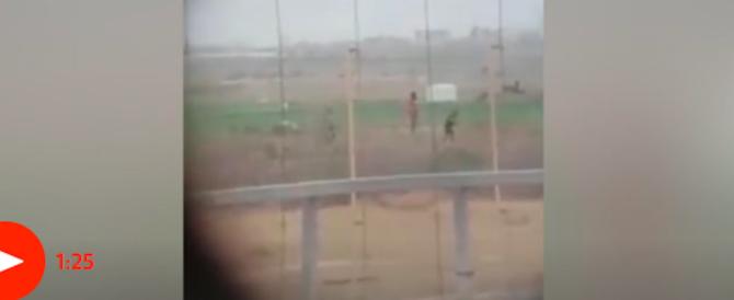 Cecchino israeliano uccide palestinese disarmato. Il video è in Rete