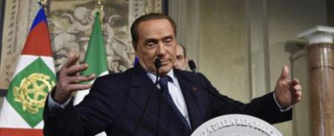 Berlusconi, via libera al governo Lega-M5S: niente veti, astensione responsabile