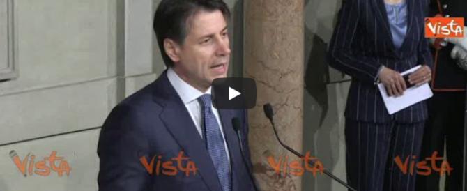 Conte rassicura i mercati: «Confermeremo l'Italia in Europa» (video)