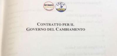Pronta la prima bozza del contratto tra M5S e Lega: ci sono flat tax e Fornero