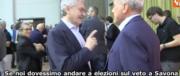 Fuorionda di D'Alema: «se elezioni per il veto a Savona, questi prendono l'80%» (video)