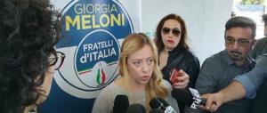"""Meloni da Catania: """"Nel patto Lega-M5S solo assistenzialismo"""""""