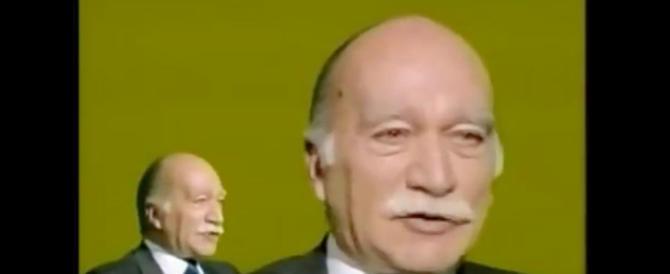 """I 5 video di Almirante più visti sul web. Dalla parola """"camerati"""" al presidenzialismo"""