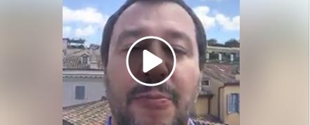 Salvini: avrei preferito il centrodestra, ma Mattarella non ha voluto (video)