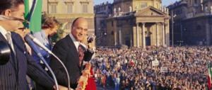 Giorgio Almirante, i comizi: quelle parole che incantavano le piazze (video)