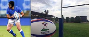 Rugby, l'irlandese Ian McKinley a Milazzo incontra i ragazzi delle scuole