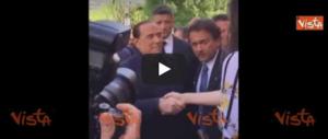 «Sono pronto a fare il premier». Berlusconi show ad Aosta (video)
