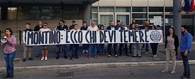 Fiumicino, blitz di Casapound contro il sindaco Montino: è la vecchia politica