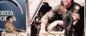 """Calcagni a """"Porta a porta"""": «Io sono il colonnello, in lotta per la vita» (video)"""