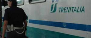 """Annuncio sul treno: """"Zingari e molestatori, avete rotto, scendete!"""""""