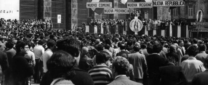 """È la """"Nuova Repubblica"""" l'eredità politica di Almirante e Romualdi"""