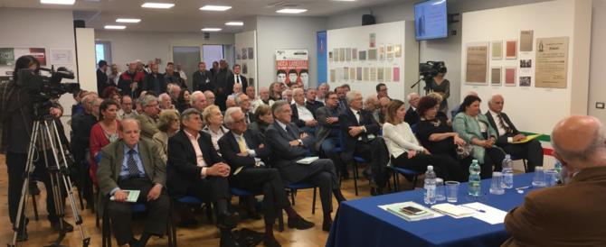Almirante e Romualdi ricordati dalla Fondazione An: «Giganti della nostra storia»