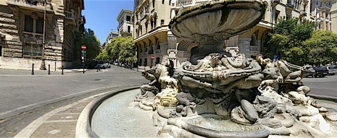 Roma, il piromane del rione Coppedè colpisce ancora: quartiere in allarme